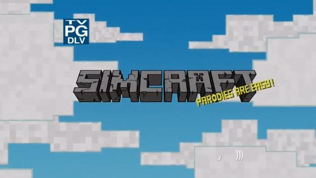 The Simpsons Minecraft Intro