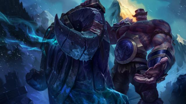 Braum the Heart of Freljord in League of Legends