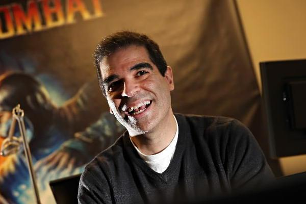 Ed Boon ALS Ice Bucket Challenge