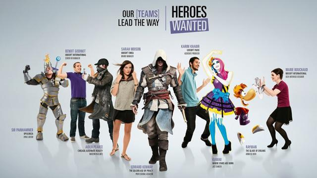 Ubisoft: Heroes Wanted