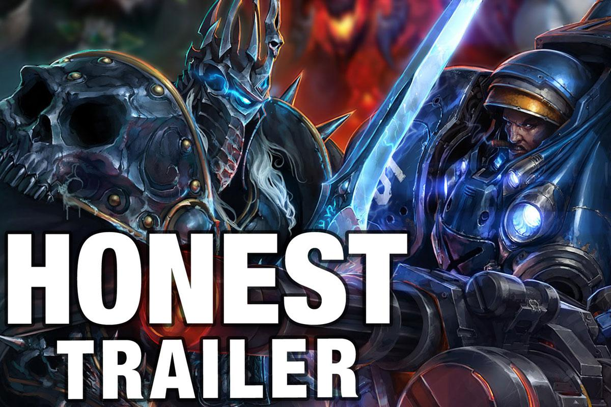Honest Game Trailers: Heroes of the Storm