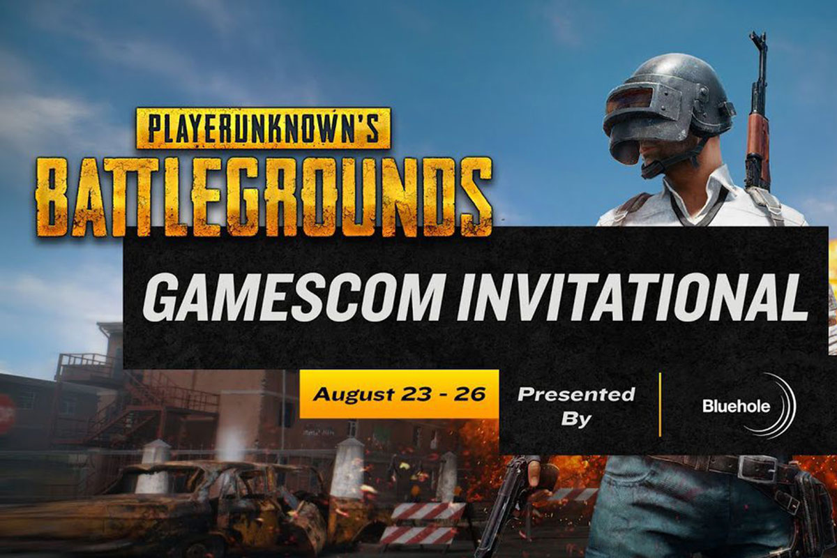 Όλα τα streams του PUBG Gamescom Event!