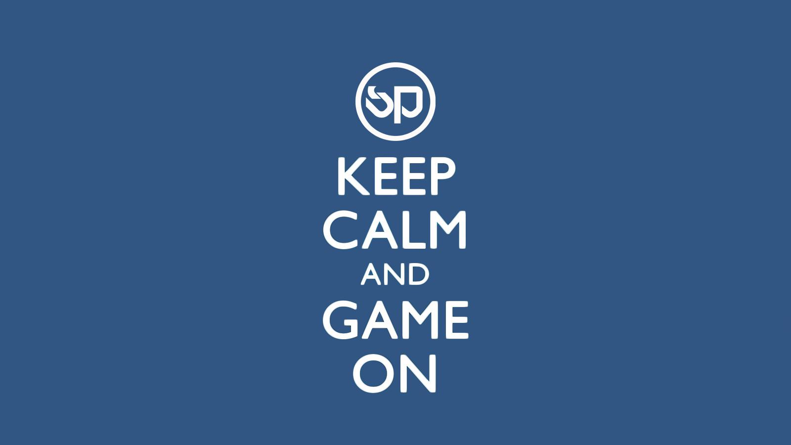 SP Gaming Keep Calm Wallpaper