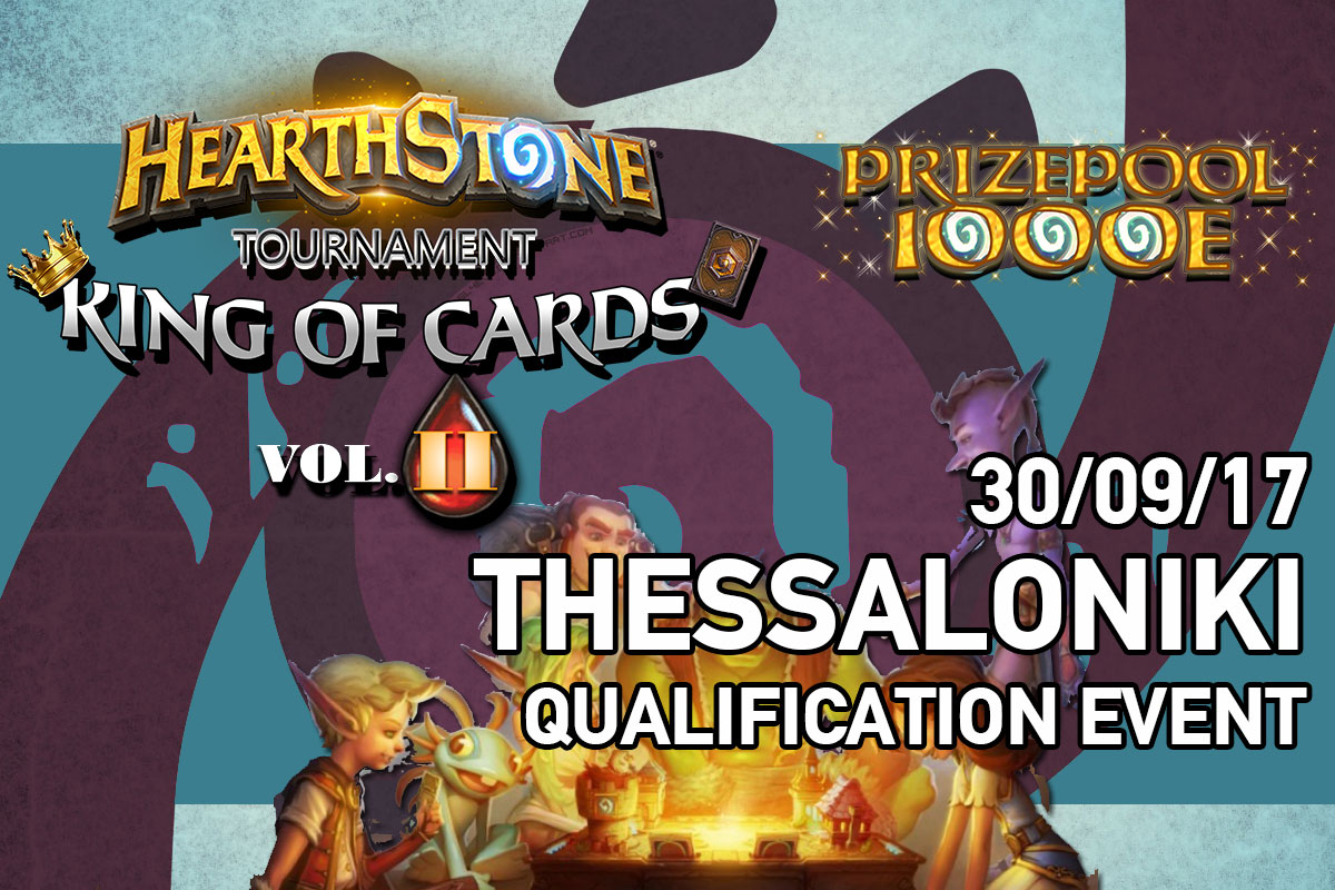 King of Cards Vol.2 – Thessaloniki Qualifier Photos