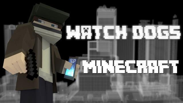 Minecraft meets Watch Dogs [video]
