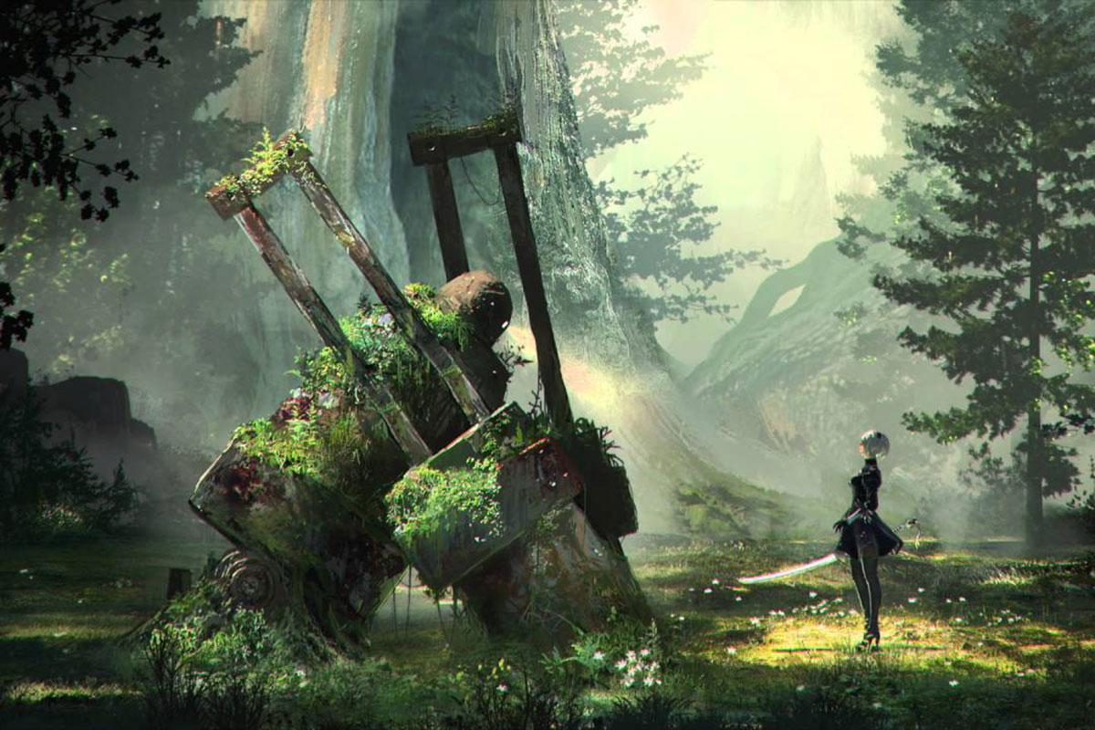 NieR: Automata – Arsenal of Elegant Destruction trailer