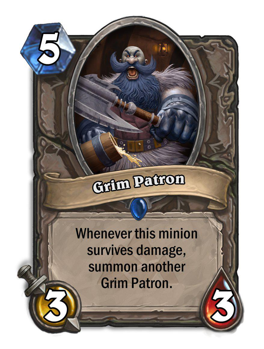 hearthstone card