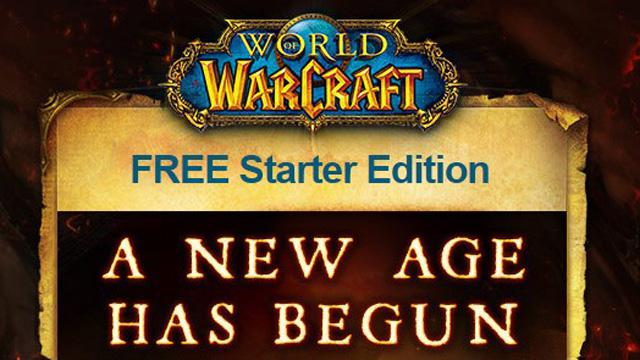WoW free to play Starter Edition